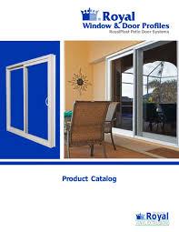 Patio Catalog Royalplast Patio Door Systems Royal Group Technologies Pdf