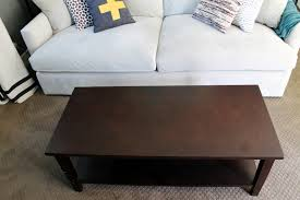 Uncomfortable Couch Coffee Tables And Ottomans Are Not Created Equal Chris Loves Julia