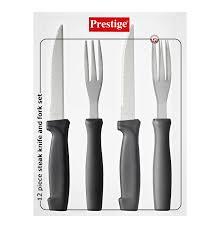 prestige 12 piece steak knife and fork set lowest prices