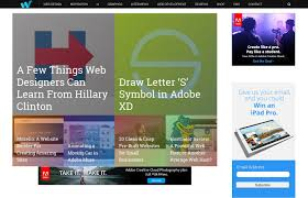homepage design inspiration top blogs about web design and web development u2013 web development