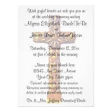 Catholic Wedding Invitation Christian Wedding Invitations Dancemomsinfo Com