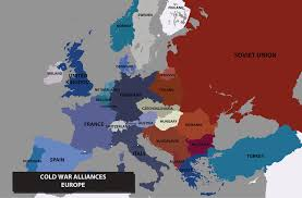 Cold War Europe Map by Inglourious Basterds By Rvbomally On Deviantart