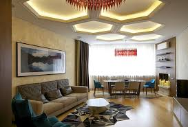 Coffered Ceiling Lighting by Phenomenal Ceiling Lights For Living Room And With Living Room