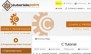tutorial web c what are the best websites to learn c programming language