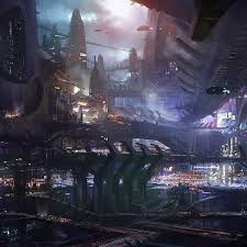 50 futuristic city ipad wallpapers