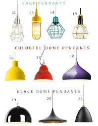 Colorful Pendant Lights Get The Look 48 Pendant Lights Perfect For Hallways Stylecarrot