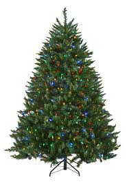 excellent decoration 8 ft pre lit tree 7 foot corner the