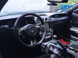 mustang steering wheels ford performance mustang gt350r leather alcantara steering wheel