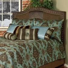 Western Bedding Teal Pillows And Shams