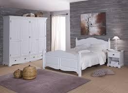 meuble blanc chambre chambre blanche complète lit 160 armoire chevet beaux