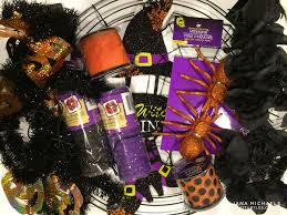 Halloween Wreath 17turtles Dollar Tree Halloween Wreath