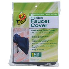 Outdoor Faucet Freezing Duck Flexible Faucet Cover 280462 The Home Depot