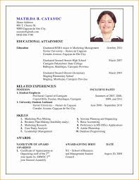 updated resume formats updated resume format new exles resumes resume template summer