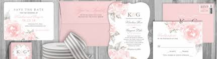 wedding invitations rose pink rose wedding invitations tropical papers