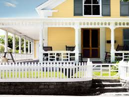 decorating ideas for older homes yellow exterior house paint