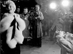 marilyn and marlon brando at the premiere of