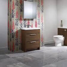 kato designer freestanding 600mm walnut bathroom vanity unit