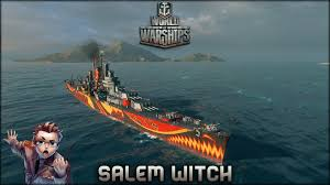 world of warships salem witch halloween edition youtube