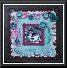 Dog Scrapbook Album My Dog Dolly U0027s Pet Scrapbook Album With Layouts U0026 Sketches Youtube