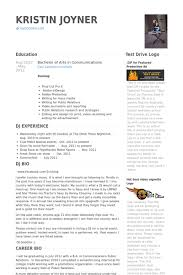Public Relations Resume Example by Public Relations Manager Resume Samples Visualcv Resume Samples