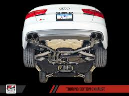 audi q5 performance parts audi s6 exhaust awe tuning