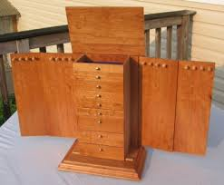 jewelry necklace boxes images Larger jewelry box lid construction jpg