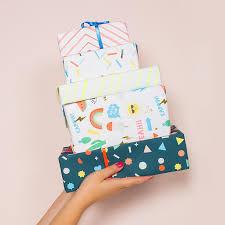 m m wrapping paper meri meri icons unicorn wrapping paper le putti canada