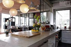 cuisine dans loft cuisine ouverte c0091 mires