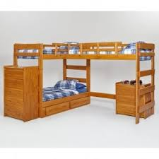 L Shaped Loft Bunk Beds Foter - L shaped bunk beds twin over full