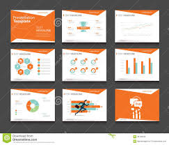 templates for powerpoint presentation on business orange infographic business presentation template set powerpoint