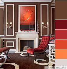 stylish orange color schemes for vibrant fall decorating