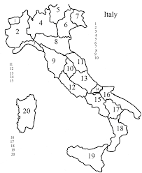 Blank Map Of Africa Quiz by Italy Enchantedlearningcom Geography Do You Know The Italian
