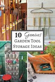 Diy Garden Tool Storage Ideas 10 Genius Garden Tool Storage Ideas The Handyman S