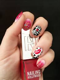 valentine u0027s day nail art from nailing hollywood