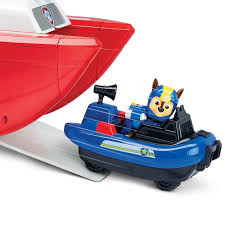 paw patrol sea patrol u2013 sea patroller transforming vehicle with