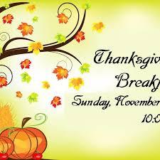 thanksgiving breakfast community church of god san jose ca