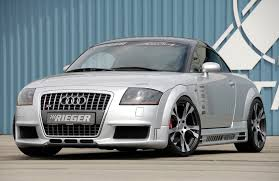 rieger audi 2000 audi tt with rieger bodykit 17 year tt never looked this