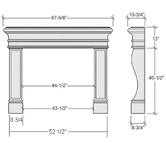 Average Sofa Dimensions by Average Fireplace Dimensions Learn Pinterest Mantels Mantle