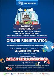 pameran pendidikan sabtu 4 februari 2017 u2013 online registration