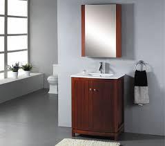 Single Vanity For Bathroom by Abodo 27 Inch Single Sink Bathroom Vanity Set Constructed From