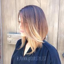 a line bob haircuts a line bob haircut with ombr joanna yelp