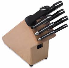 knife block with forged knives 1 4116 stainless steel 100 made in