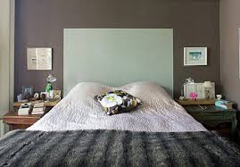 Painted Headboard Ideas Interior Design Glorious Grey Blanket With Dark Grey Wall