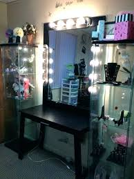 makeup dresser with lights professional makeup vanity table with lights tables light mirror