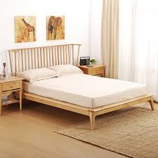 b921 white acorn wooden bed double beds european style original