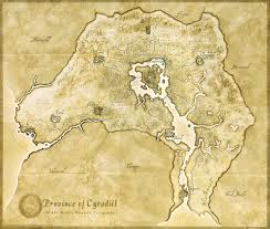 Map Of Skyrim Map D U0027oblivion Old Maps Pinterest Oblivion And Skyrim