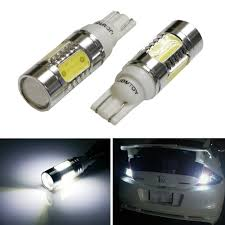 nissan juke led headlights ijdmtoy 2pcs xenon white 7 5w high power 912 921 906 projector led