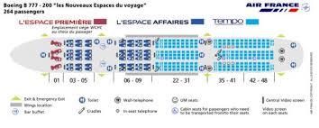 boeing 777 300er sieges air seat map classfirstbusinessflights com best