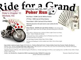 Native Lights Casino Ride For A Grand Poker Run Winfield Ks U2014 Jack U0027s Habit