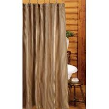 Burlap Shower Curtains Country Shower Curtains Primitive Country Burlap Shower Curtain